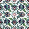 Desenli Kütahya Çini Karo eski osmanlı çini desenleri örnekleri nerede görebilirim cami çinisi desenli kütahya iznik çinisi özel parlak Türk hamamı çinileri
