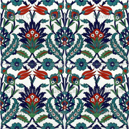 Desenli Çini Karo Eski Osmanlı Cami Çinileri Çinisi Desenleri Modelleri Kütahya İznik Taş Çini KAro SEramik Nasıl Yapılırdı Nerede Yapılırdı Üretilirdi