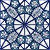 Desenli Kütahya Çini Karo Geometrik Desenli Osmanlı ve Selçuklu Çinisi Deseni Desenleri Eski Seramikler Nasıl Yapılırdı Morocco Maroc Fas Arap Desenleri