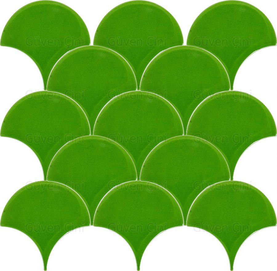 fıstık yeşili çimen yeşili açık parlak yeşil renkli renginde balık pulu desenli deseninde çini karo seramşk fayans modelleri 2018 2018 yeni eski şık cafe restoran restorant restaurant