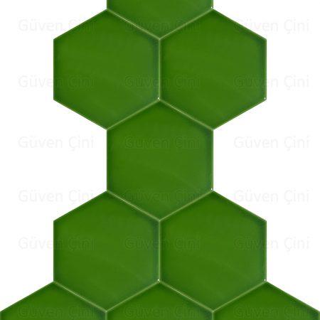 düz fıstık yeşili renkli altıgen çini karo hesaplı ucuz çini fiyatı fiyatları